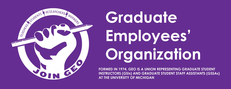 Graduate Employees' Organization (GEO)